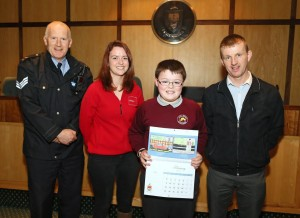 Joseph Flood - Mayo Road Safety Competition 09.01.15