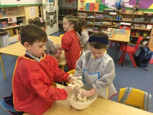 making play dough 3