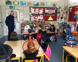 Garda Monaghan visit